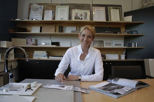 Claudia Altrichter von der Firma Elsässer in Steinenbronn ist bereits mehrmals als Badplanerin des Jahres ausgezeichnet worden.