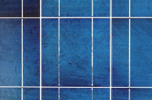 Modulfläche für die Erzeugung von Solarstrom.